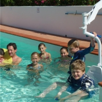 Pool hoist-chair-disabled holidays-The Algarve-Portugal